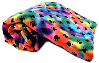 RAINBOW PAWS PET BLANKET