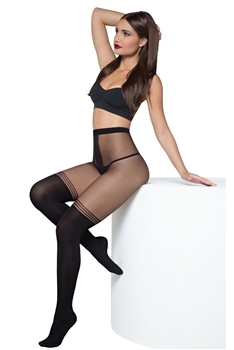 UNDERWEAR TWO TONE FASHION TIGHTS