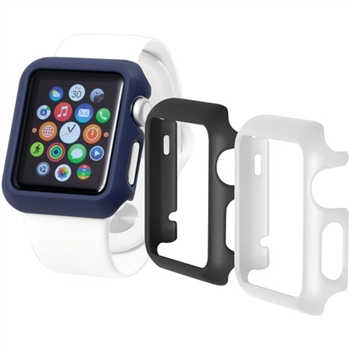 Apple Watch® Odyssey Guard Cases, 3 pk (42mm, Black/White/Blue)
