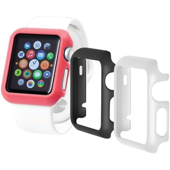 Apple Watch® Odyssey Guard Cases, 3 pk (38mm, Black/White/Pink)