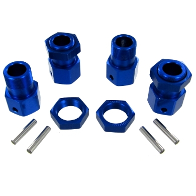 050030 Aluminum Wheel Hex and Nut Set (4pcs) 050030