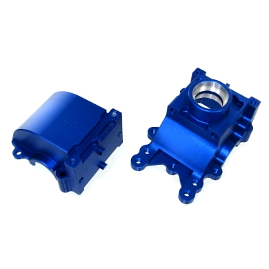 Redcat Racing 050060 Aluminum Differential Housing, Blue 050060