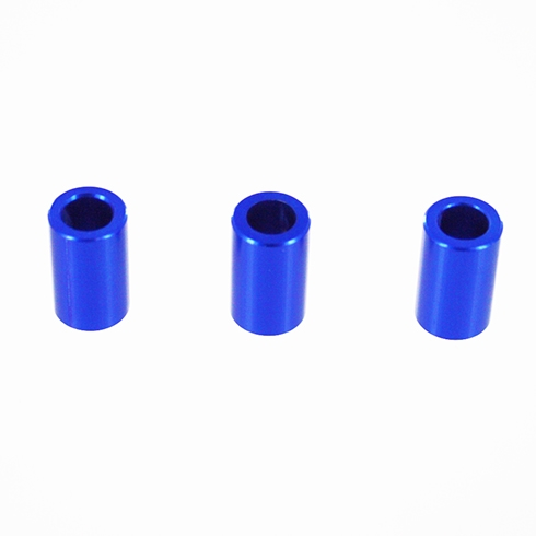 Redcat Racing  050116 Aluminum Gear Plate Spacer, Blue (3P) 050116
