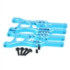Aluminum front lower arm (2pcs)(blue) 06050B