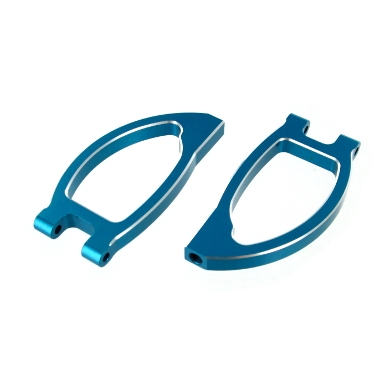 Redcat Racing 08036B Aluminum Front Upper Arms, Blue (2pcs) 08036B