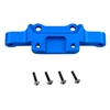 Aluminum front upper arm mount (blue) 08040B