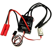 Hobbywing 60A Brushless Speed Controller, Splashproof HW-WP-10BL60-RTR / 03351