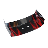 Redcat Racing KB-61071 Off Road Buggy Wing, Red Scheme  KB-61071