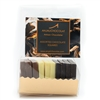 Pack of 10 Assorted Chocolate Tasting Squares: made using Belgian couverture