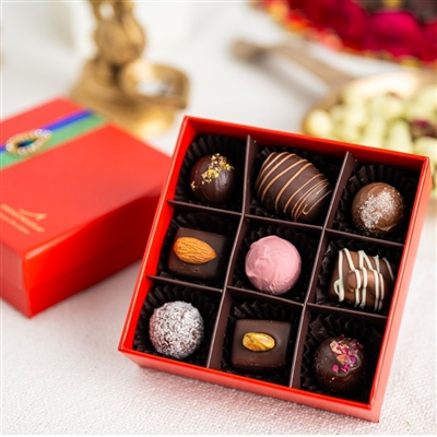 Deepavali Gift Box of 9 Chocolates