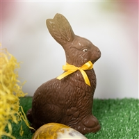 Easter isn't complete without one of these classic, delicious chocolate bunnies, made using the finest Belgian chocolate. Available in white chocolate, milk chocolate or semisweet chocolate. Height: 16cm.