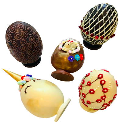 Easter Egg Decorating Workshops - Medium Egg (Height 14cm)