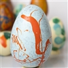 Chocolate Easter Egg - Height 10cm