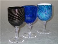 Handmade Glass Goblets