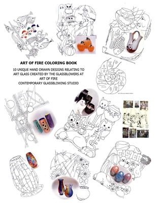 Art of Fire Coloring Book