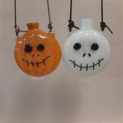 Jack-O-Lantern Flask Glow in the Dark