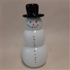 Snowman with Black Hat