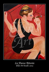"Ellyn's Art ""La Danse Attente"" Art Poster"