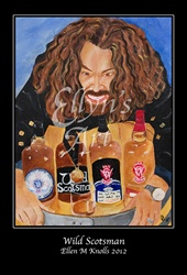 "Ellyn's Art ""Wild Scotsman"" Art Poster"