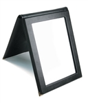 Leatherette Folding Mirror