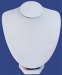 "Wide Necklace Bust 7.5""W x 8""H"