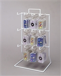Twelve Hook Countertop Wire Displays