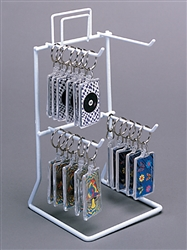 Four Hook Countertop Wire Displays