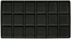 <!07>Flocked Insert 18 Compartment