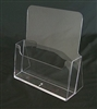 "Injected Moulded Plastic Counter Brochure Holder  8.5"" x 11"" w/ 2.5""D Pocket"