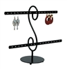 Black Metal Earring Displays