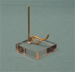 Brass & Acrylic Swing Arm Display
