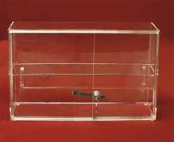 Acrylic Sliding Door Locking Showcase