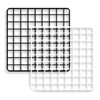 Mini Grid Square Panel White 14""