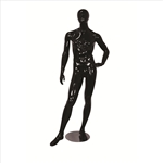 Glossy Egghead Mannequin w/Stand Male 3