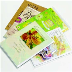"Greeting Card Bag 4.75""x6.75"" Qty of 100"