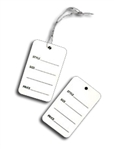 Pricing Tag Preprinted