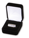 "Black Velvet Ring Box 1.875""x2.125""x1.5"""