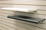 Plastic Bullnose Shelf