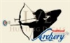 Ladies Traditional Archery Decal