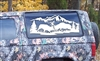 Bullies in the Pines Mural Decal