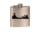 Whitetail Hunter Flask