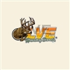 LVE Buck Logo Decal