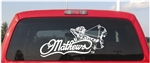 Mathews Archery Bow WOMAN Decal