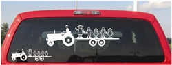 Tractor Family Decal