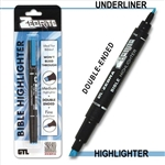 Zebrite Double-Ended Bible Highlighter - Blue