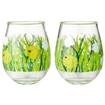 Dandelion: 2 Piece Acrylic Glass Set