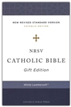 NRSV Catholic Bible Gift Edition (White)