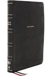 NKJV Super Giant-Print Reference Bible, Comfort Print - Black
