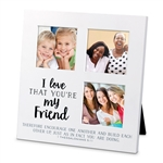 I Love That You're My Friend Collage Frame