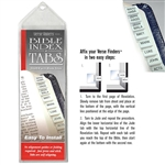 Silver Tabs - Horizontal Bible Index Tabs Pack